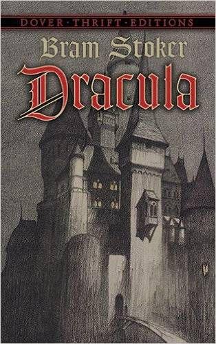 Dracula by Bram Stoker Cover