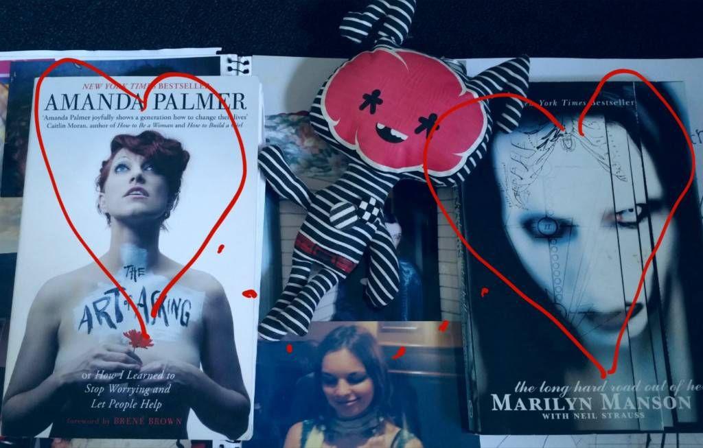 Carissa Lee Amanda Palmer Marilyn Manson