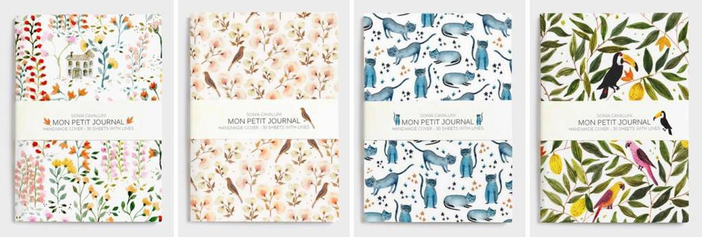 Mon Petit Journal by Sonia Cavallini
