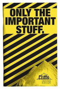 CliffsNotes cover