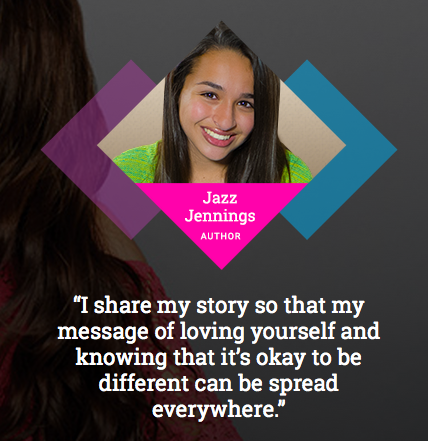 Read Proud Listen Proud Jazz Jennings author ambassador