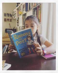 Reading Ramona the Pest