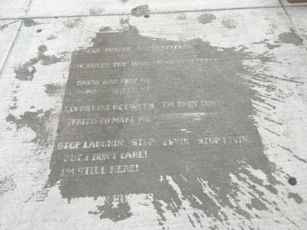 Boston Sidewalks Reveal Hidden Poetry Whenever It Rains| BookRiot.com