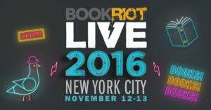 Book Riot Live 2016 logo