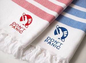 don't panic towels
