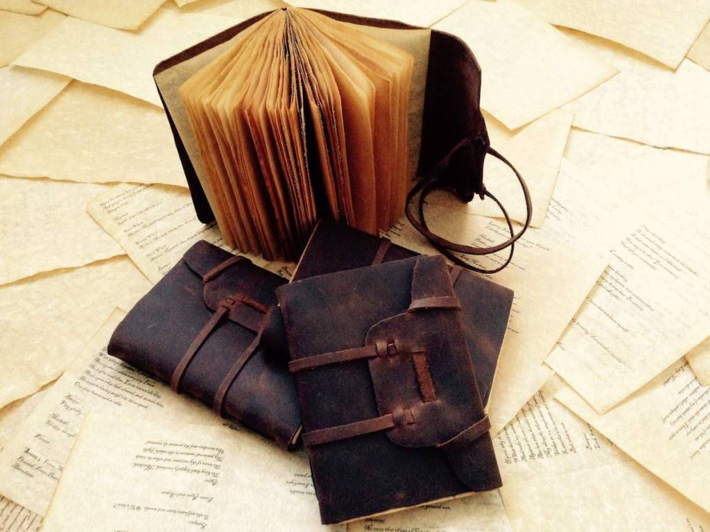 Leather and Parchment Journal