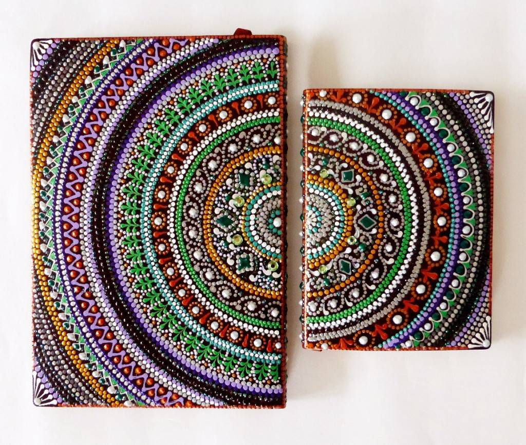 Painted Mandala Journal