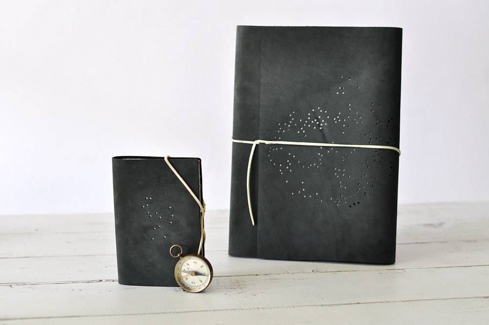 Constellation Leather Sketchbook