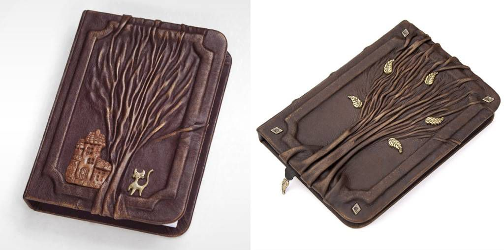 Leather Tree Journal by AVworkshop