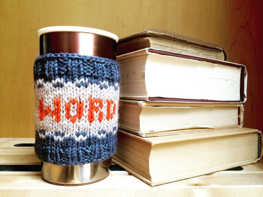 word nerd with books