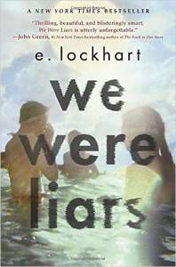 Cover of we were liars by e. lockhart | book riot