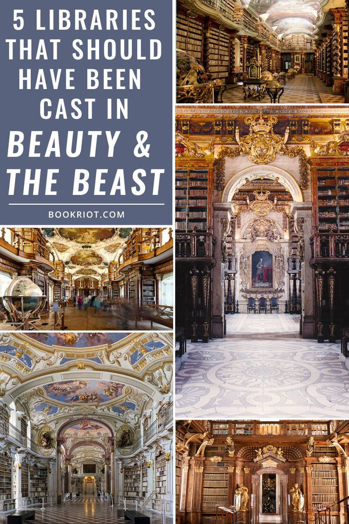 5 Libraries That Should Totally Star in the 2017 Live Action Remake of Beauty and the Beast