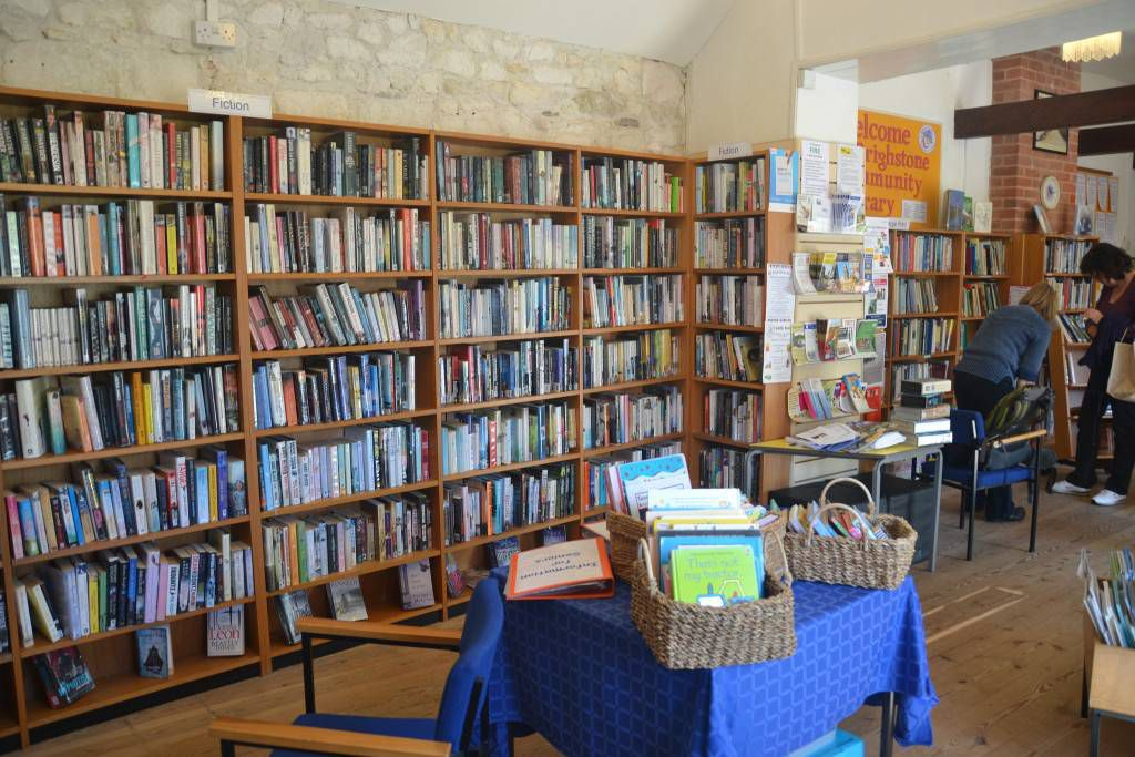 Brighstone Community Library on the Isle of Wight, UK