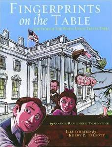 Fingerprints on the Table by Connie Remlinger Trounstine book