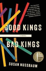 good kings bad kings book cover by susan nussbaum