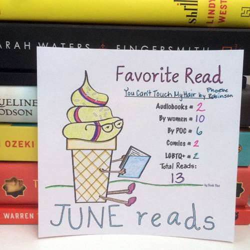 June Reads Colored