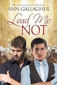 Cover of Lead Me Not by Ann Gallagher