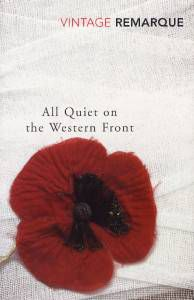 All Quiet on the Western Front by Erich Maria Remarque book cover