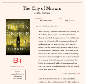 Lit Hub Book Marks Cronin City of Mirrors