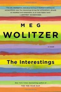 the interestings by meg wolitzer book cover
