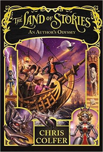 The Land of Stories- An Author's Odyssey by Chris Colfer