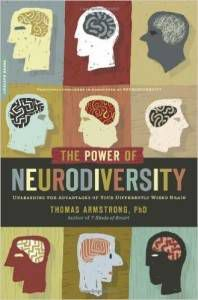 the power of neurodiversity book cover by thoams armstrong