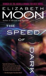 the speed of dark book cover by elizabeth moon