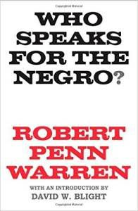 Who Speaks For The Negro Cover