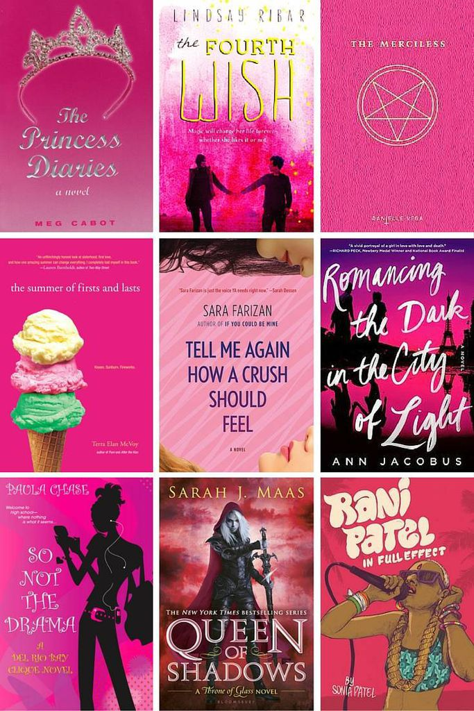 YA Pink Cover Collage 2