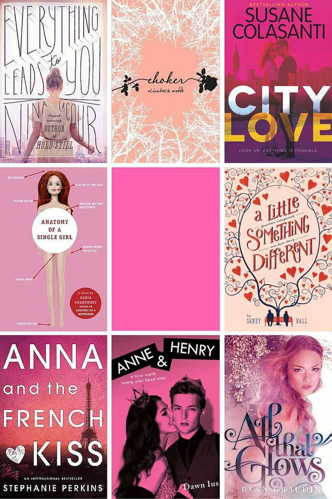 YA pink cover collage 5