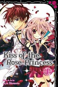 kiss of the rose princess manga