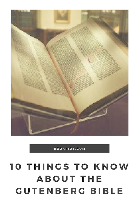 10 Things You Should Know about the Gutenberg Bible