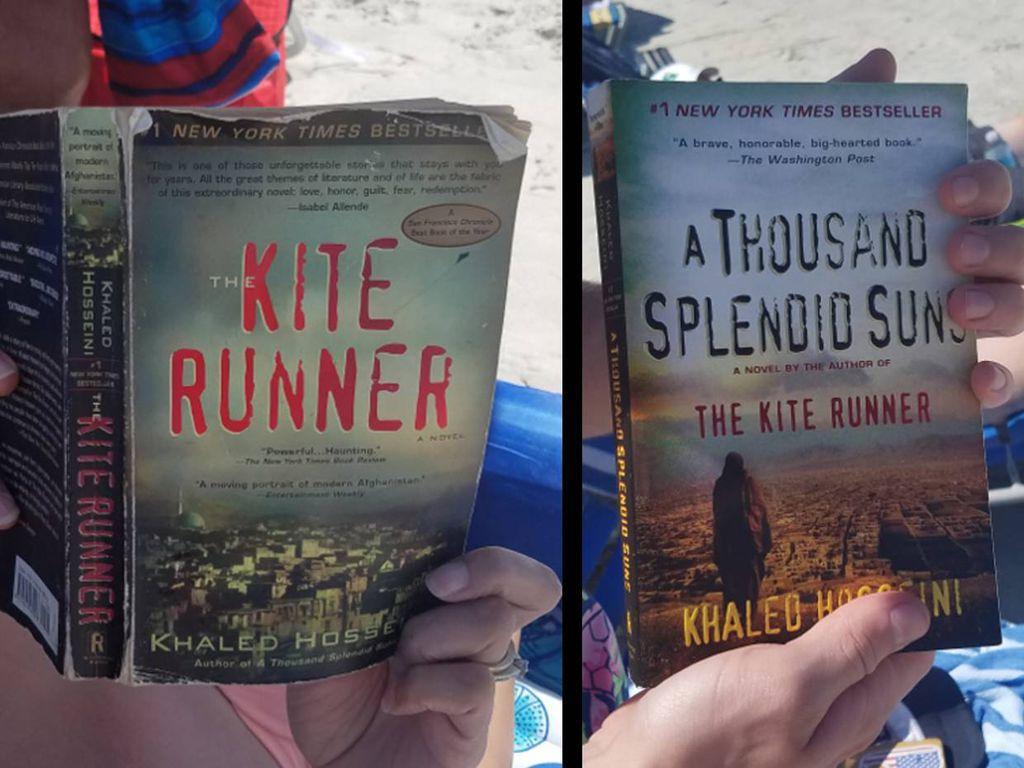 Kite Runner A Thousand Splendid Suns Khaled hosseini at the beach
