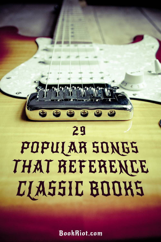 29 popular songs based on books - Metallica, Led Zeppelin, The Beatles, + more!