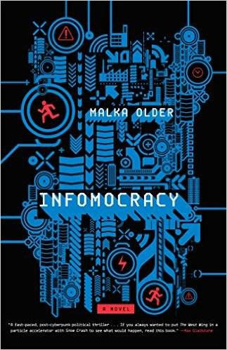 cover image of Infomocracy by Malka Older