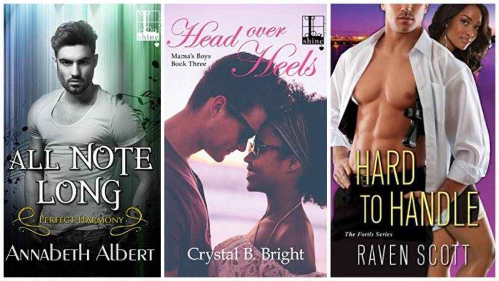 August Diverse Romances collage