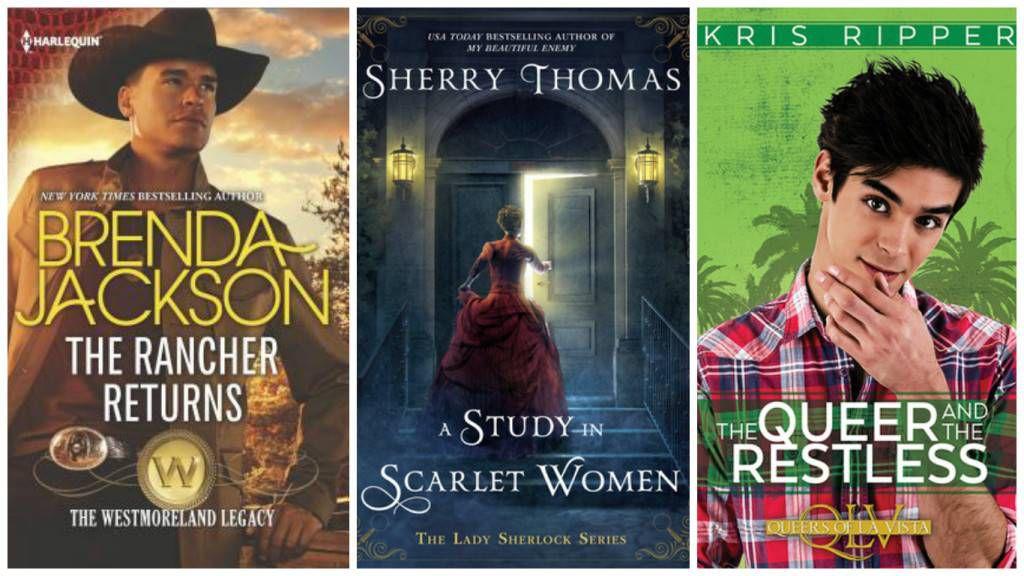 October Diverse Romances collage