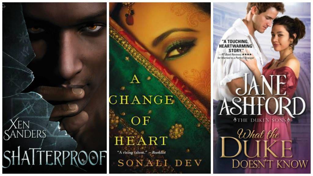 September Diverse Romances collage