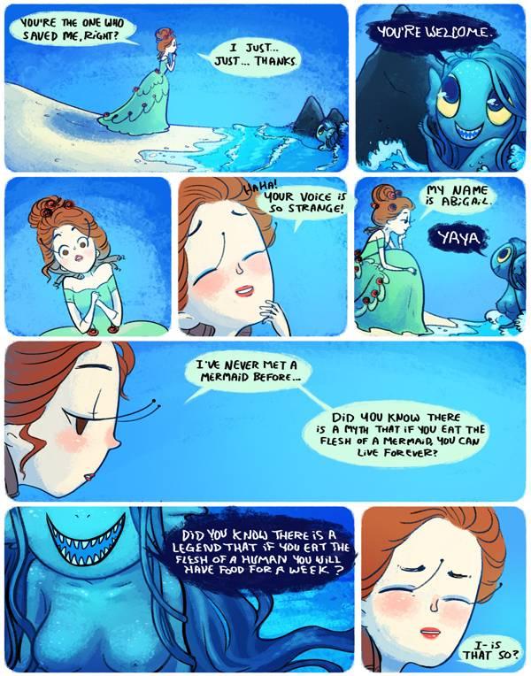 Language And Politics >> 5 Lesbian Mermaid Comics You Need to Read
