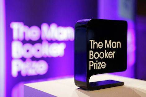 Man Booker Prize Sign. Man Booker Prize Loses Sponsor