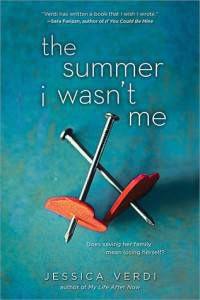 The Summe I Wasn't Me by Jessica Verdi cover