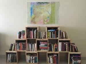 Kareem's bookshelf