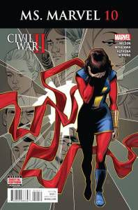 Ms. Marvel #10 by G. Willow Wilson, Takeshi Miyazawa, and Adrian Alphona