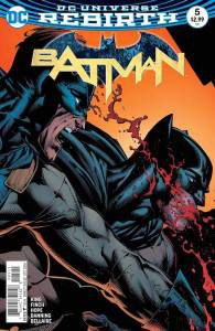 Batman #5 by Tom King and David Finch