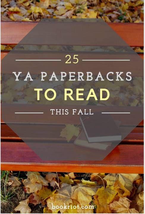 25 ya paperbacks to read this fall
