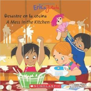 Eric and Julieta- Desastre en la Cocina book by Isabel Munoz