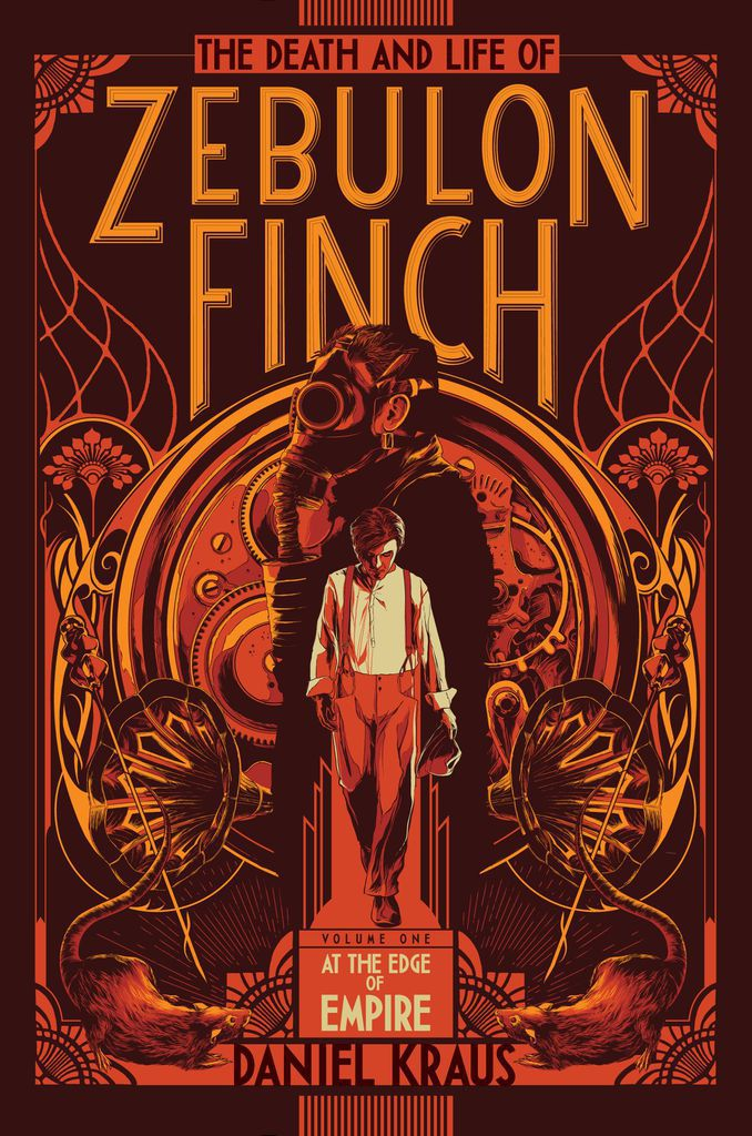 Front Cover - Zebulon Finch
