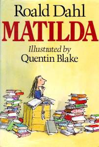 Matilda by Roald Dahl - classic books for middle graders