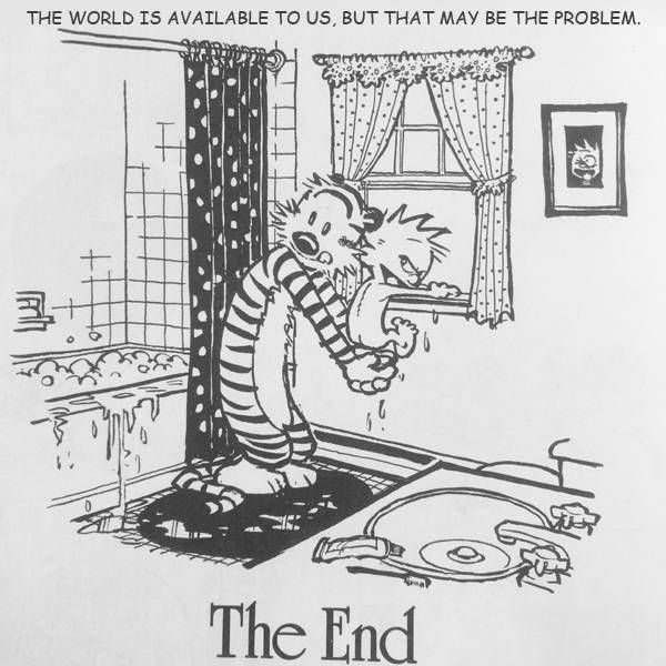 Modern Romance & Calvin and Hobbes Mashup 2