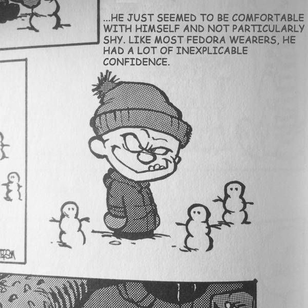 Modern Romance & Calvin and Hobbes Mashup 7